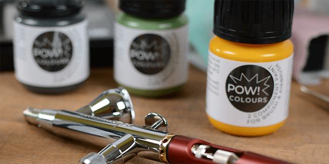 Optimal für Pinsel und Airbrush!