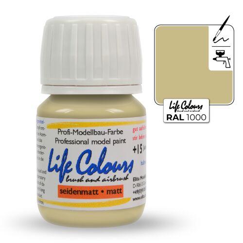 Life Colours RAL 1000 Grünbeige