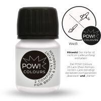 POW! Colours 2K Basislack Weiß hochglänzend