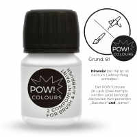 POW! Colours 2K Basislack Grundierung Weiß seidenmatt