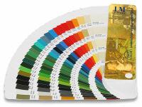 Land- und Baumaschinen Farbfächer