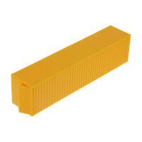 Elita H0 Container 40FT. Bausatz gelb