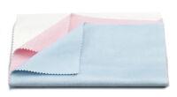 Tamiya 87090 Poliertuch-Set rosa/blau/weis, 3 Stück