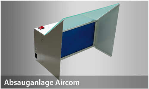 AirCom 166205 Absauganlage 38 Watt Basismodul