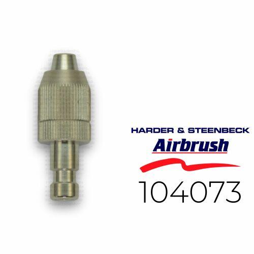 Harder & Steenbeck 104073 Stecknippel NW 2,7 mm für Schlauch 4x6mm