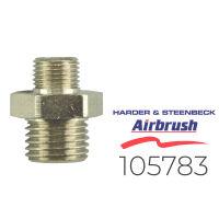"Harder & Steenbeck 105783 Doppelnippel G 1/8"" AG..."