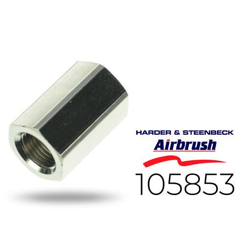 """Harder & Steenbeck 105853 Doppelnippel 2X G 1/8"""" Innengewinde"""