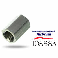 "Harder & Steenbeck 105863 Doppelnippel 2X G 1/4""..."