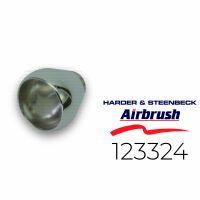 Harder & Steenbeck 123324 Fließbecher 2 ml, chrom