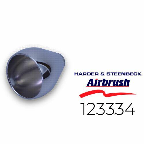 Harder & Steenbeck 123334 Fließbecher 5 ml, chrom