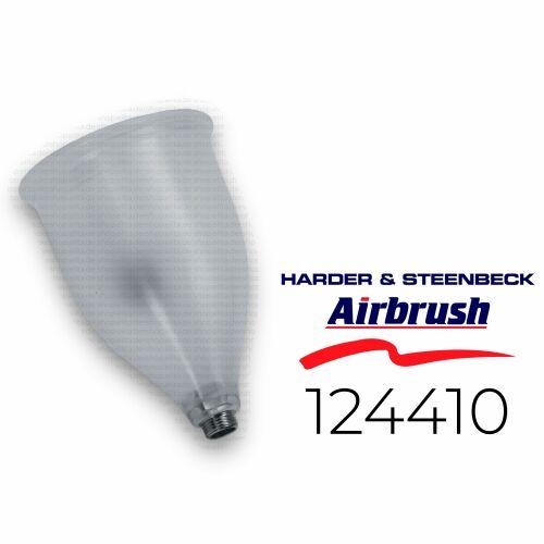 Harder & Steenbeck 124410 Becher mit Deckel 50 ml, Kunststoff