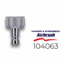 Harder & Steenbeck 104063 Stecknippel NW 2,7 mm mit G...