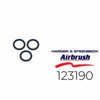 Harder & Steenbeck 123190 O-Ring für Luftkopf, 3...