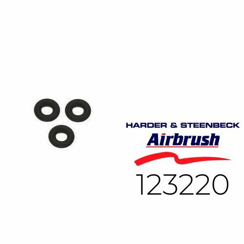Harder & Steenbeck 123220 O-Ring für Ventilstange, 3 Stück