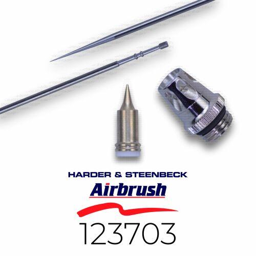 Harder & Steenbeck 123703 Düsensatz 0,2 mm