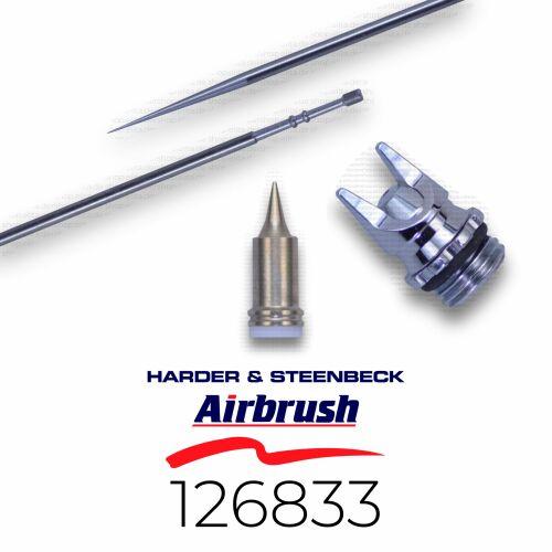 Harder & Steenbeck 126833 Düsensatz 0,2 mm fine line