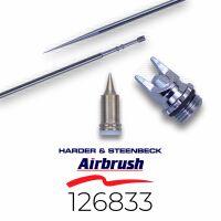 Harder & Steenbeck 126833 Düsensatz 0,2 mm fine...