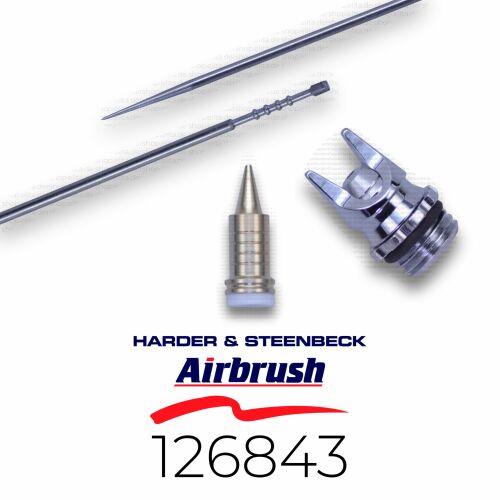 Harder & Steenbeck 126843 Düsensatz 0,4 mm fine line