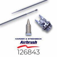 Harder & Steenbeck 126843 Düsensatz 0,4 mm fine...