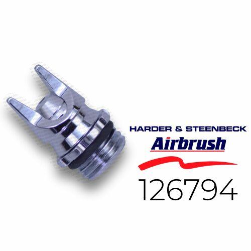 Harder & Steenbeck 126794 Luftkopf 0,4  mm CRplus fine line, chrom