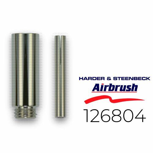 Harder & Steenbeck 126803 Verlängerung für Airbrush Griffstück +3 cm
