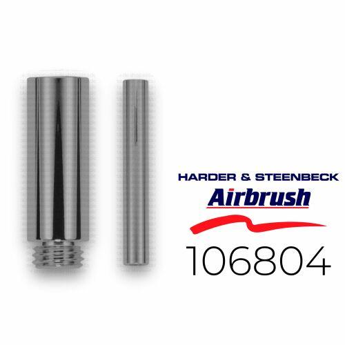 Harder & Steenbeck 126804  Verlängerung für Airbrush CRplus Griffstück +3 cm, chrom