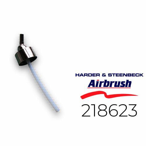 Harder & Steenbeck 218623 Adapter mit Schlauch für Flasche 30 ml