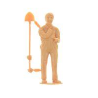 Elita Modelle Figur Spur G Arbeiter mit Schaufel ruhend