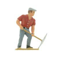 Elita Modelle Figur Spur G Arbeiter mit Spitzhacke