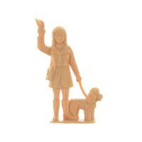 Elita Modelle Figur Spur G Frau mit Hund